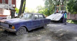 Se realizó una nueva jornada de remoción de autos abandonados