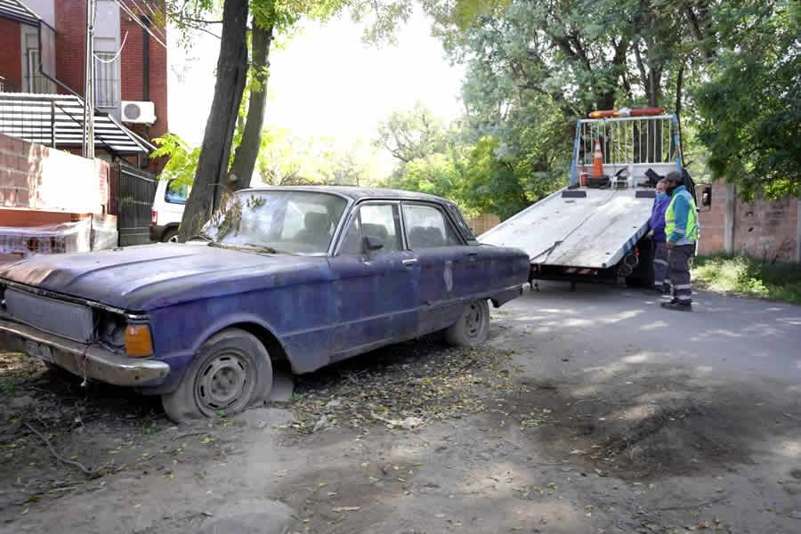 Remoción de autos
