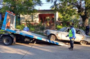 Retiro vehículos abandonados