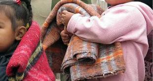 campaña de abrigo