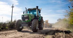 Avanzan los trabajos de recuperación de caminos rurales