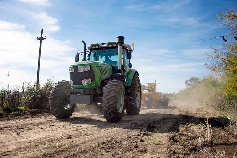 recuperación de caminos rurales