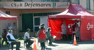 cruz roja testeo en localidades