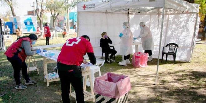 La Cruz Roja continúa con las jornadas de testeos