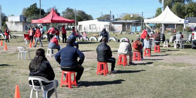 Continúan los testeos Covid en barrios y localidades de Luján