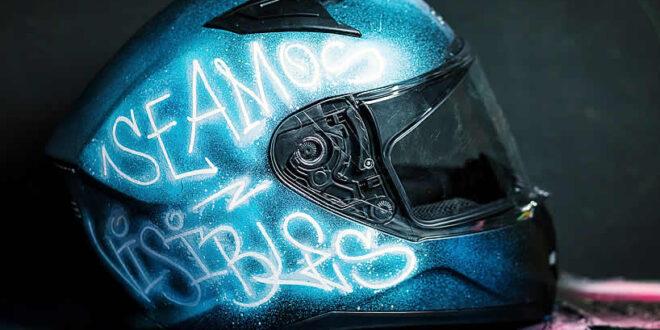 "Lanzan una campaña con ""cascos foto luminiscentes"""