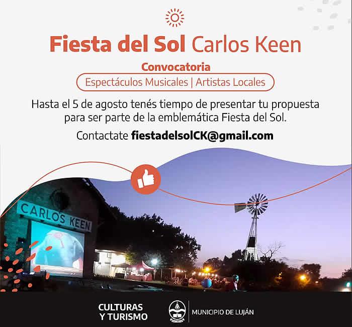Fiesta del sol Carlos Keen