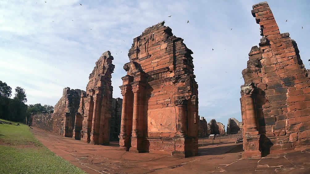 Las ruinas jesuíticas