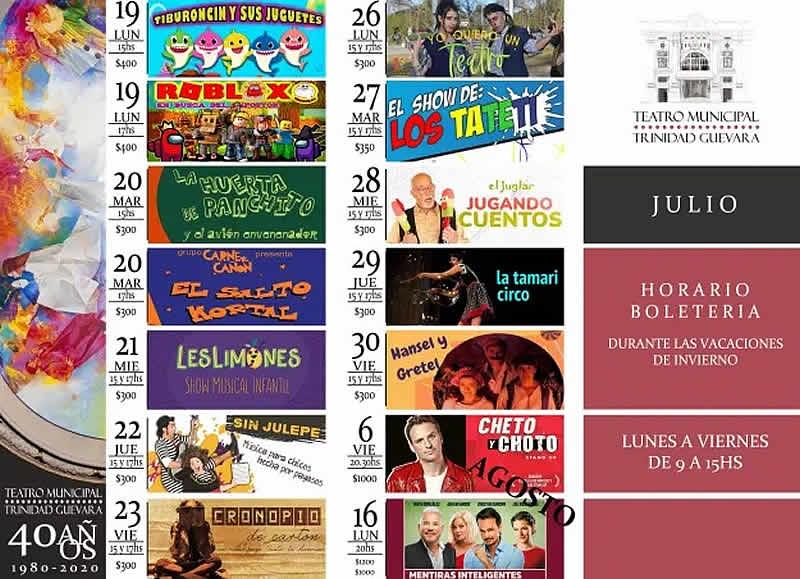 programa julio municipal