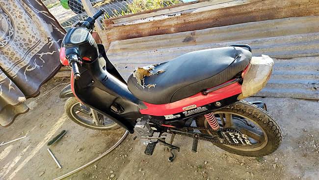 robo de moto