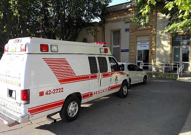ambulancia bomberos