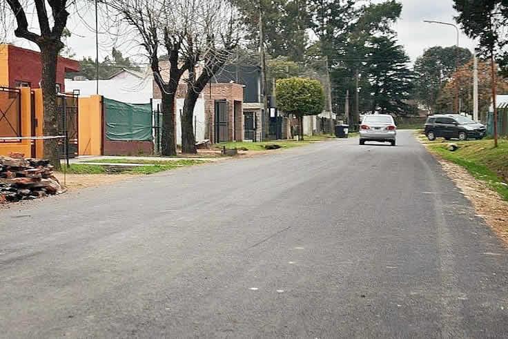 nuevas calles pavimentadas