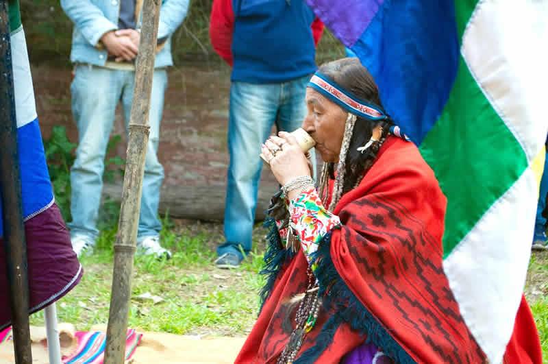 Ceremonia de la Pachamama