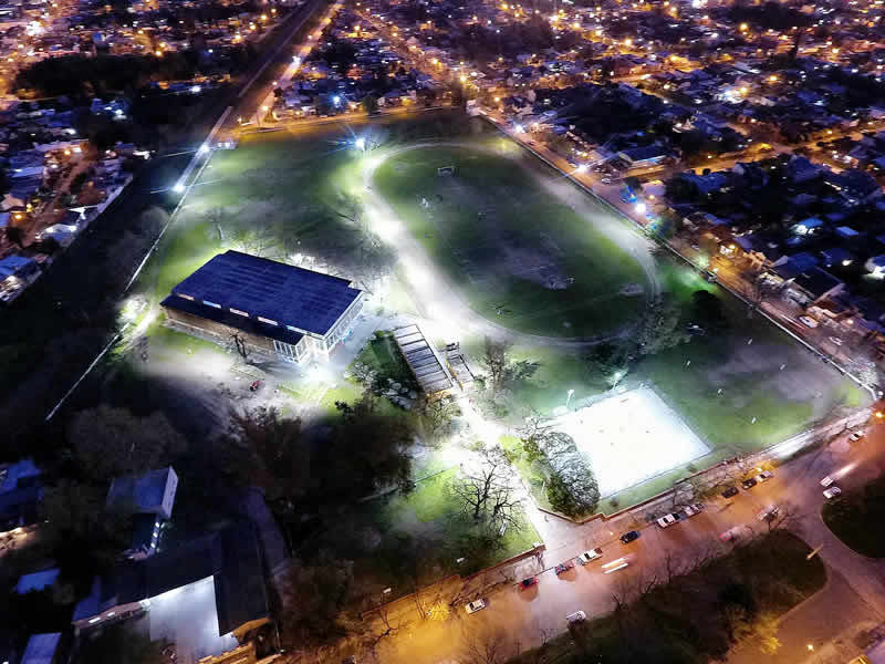 Iluminación Polideportivo