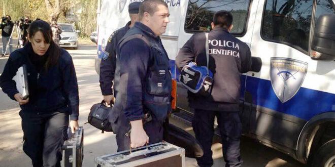 Policía Científica Luján
